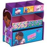 Delta Органайзер для игрушек с ящиками Доктор Плюшева Disney Doc McStuffins Multi-Bin Toy Organizer