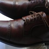 Туфли броги кожаные 42 Италия