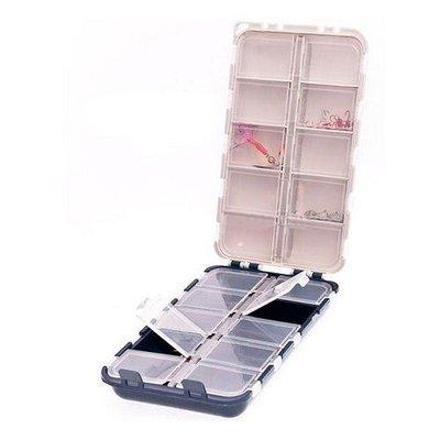 Коробка Aquatech двойная 20 отделений с крышками