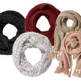 Вязаный шарф труба Esmara Германия.