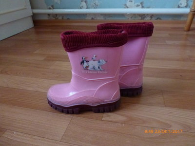 d0540646a резиновые сапоги со съемным носком: 100 грн - демисезонная обувь в ...