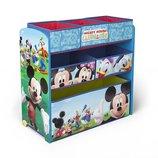 Delta Органайзер для игрушек с ящиками Микки Маус Disney Mickey Mouse Wooden Multi Bin Toy Organiser