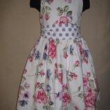 Красивое платье Некст 7л,