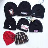 Фирменные шапки зимние теплые