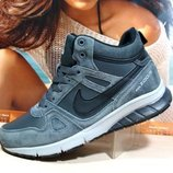 Зимние кроссовки Nike Zoom серый 41р-46р