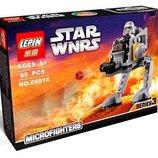 Конструктор Lepin Star Wars Шагоход империи аналог Lego 85 pcs