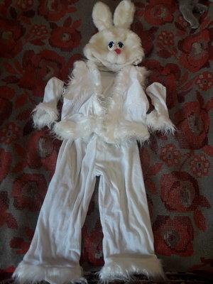 Прокат новогоднего, карнавального костюма зайца, зайчика