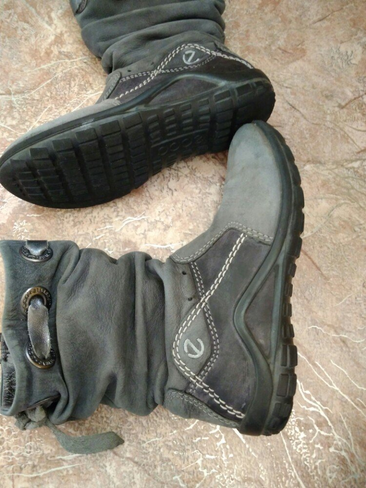 a1ba61cb0 Ботинки полусапожки ECCO демисезонные для девочки нубук: 275 грн - детская  демисезонная обувь ecco в Киеве, объявление №14963404 Клубок (ранее Клумба)
