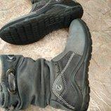 Ботинки полусапожки ECCO демисезонные для девочки нубук