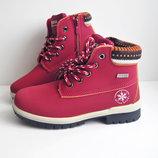 Распродажа Зимние детские ботинки Situo бордовые