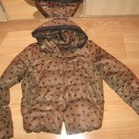 Куртка пуховик 10-12р