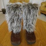 Чоботи замшеві розмір 40 стелька 26 см Rieker зимові