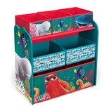 Delta Органайзер для игрушек с ящиками В поисках Дори Nickelodeon Dory Multi-Bin Toy Organizer