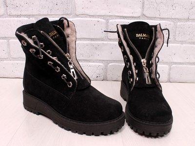 f5b0095c9 Женские зимние ботинки Balmain: 1250 грн - женские зимние ботинки ...