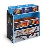 Delta Органайзер для игрушек с ящиками Как приручить дракона Multi-Bin Organizer DreamWorks Dragon 2