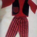 карнавальный новогодний костюм пирата на 3-5лет