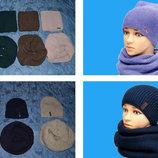 Самые актуальные модели этой зимы комплект шапка и снуд хомут , шапка-кошка шапка с ушками