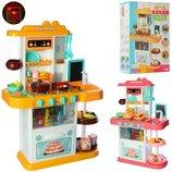 Детская игровая кухня 889-151-152, течет вода,пар