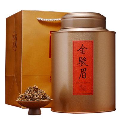 Чай элитный красный Золотые брови 0,500 гр чая в железной банке.