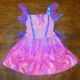 платье фея 3-4 года новогоднее карнавальное рост 104 см