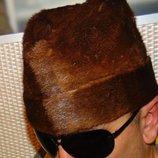 Стильная фирменная меховая шапка нерпа Icebear Норвегия 57-59
