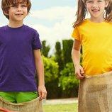 Детские футболки. Хлопок. Однотонные. Классика