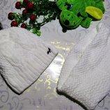 комплект, шарф, шапка, хомут