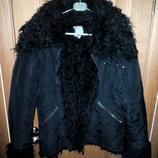 Красивая и эффектная зимняя куртка на меху