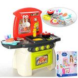 Кухня детская игровая 1525-26. Свет, звук, продукты, посуда.