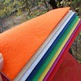Фетр набор плотный 2,2 мм 8 цветов А4
