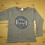 Детская кофта-реглан NYC рр. 116-146 Beebaby Бибеби