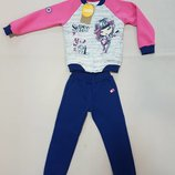 Прикольный костюм Бемби с начесом р.98-140