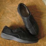 Кожаные туфли 39р. Clarks Wave Walk