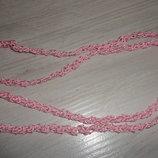 Шнур хлопковый Розовый