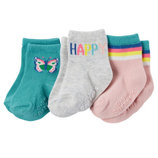 Носки Carters для девочки 0-3 месяцев 3 пары