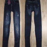 Женские джеггинсы, лосины под джинс на меху, мех, 44-48рр