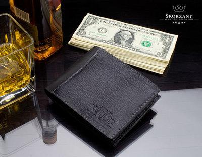 351c2f6832a0 Отличный мужской кошелек Always Wild кожа черный   439 грн ...