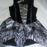 Карнавальное платье волшебницы колдуньи новое George для взрослых 16-18размер