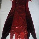 Карнавальное новогоднее платье волшебницы колдуньи George размер 8-10