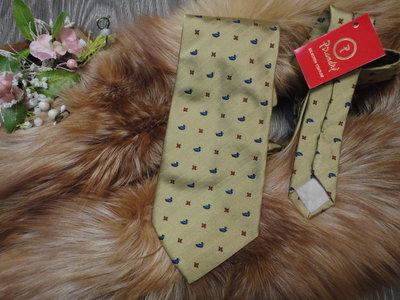Стильный, яркий галстук, шелк Италия