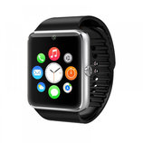 Часы Smart Watch Phone GT08 Silver на Сим карту