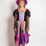 Продам карнавальный костюм Разноцветная ведьмочка