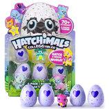 Hatchimals Набор 4 коллекционные фигурки в яйцах бонусная и фигурка CollEGGtibles 4-Pack Bonus