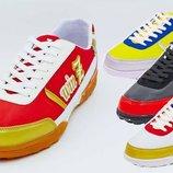 Обувь футбольная сороконожки многошиповки Zel 90203, 4 цвета размер 40-45