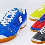 Обувь футбольная сороконожки многошиповки Zel 90204, 4 цвета размер 40-45