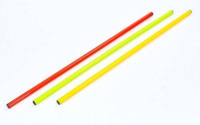 Палка гимнастическая тренировочная 2025-0,8 3 цвета, длина 80см