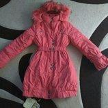 Зимняя куртка, пальто, пуховик KIKQ, холофайбер