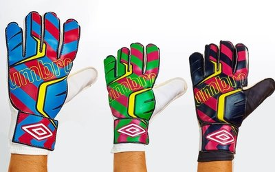 Перчатки вратарские Umbro FB-840 3 цвета, размер 9-11