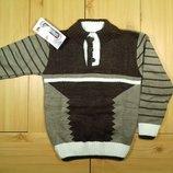 Детский свитер для мальчика рр.110-128 Beebaby Бибеби