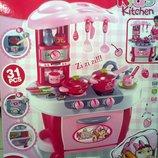 Кухня детская кухня дитяча посуда продукты звук свет на бат